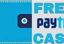 Free Paytm Cash.