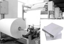 Paper Napkin Manufacturing Machine.