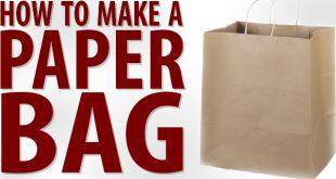 Paper Bag Manufacturing.