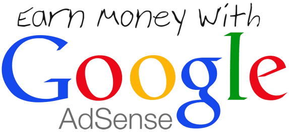 earn with google adsense.