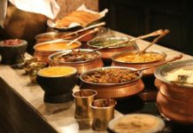 Food catering business in India.