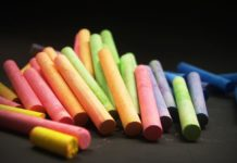 Earn money from chalk making.
